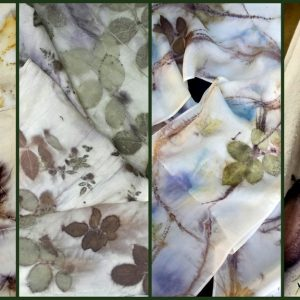 Ecoprinted-Silkand-Wool