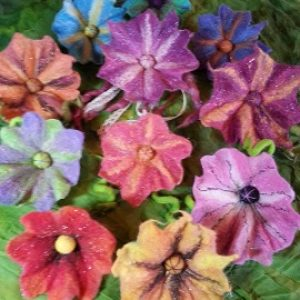 wetfeltedflower
